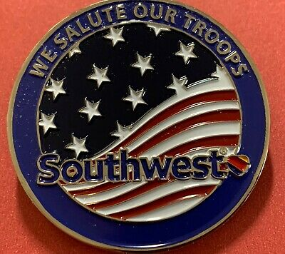 Southwest Airlines Military Salute Challenge Coin