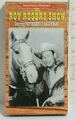 The Roy Rogers Show Starring Roy Rogers and Dale Evans - VHS Tape - New!