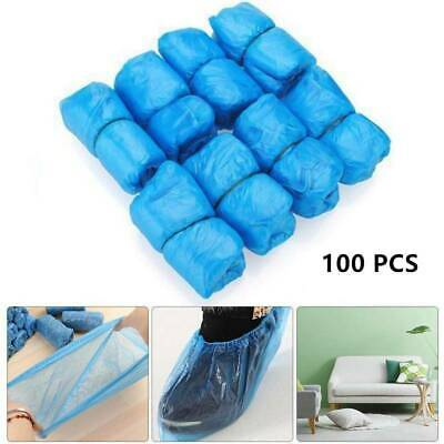 100PCS Disposable Shoe Covers Overshoes Carpet Floor Boot Protector Cover