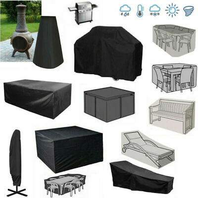 UK Waterproof Garden Patio Furniture Cover Rattan Table Protection Outdoor Cover