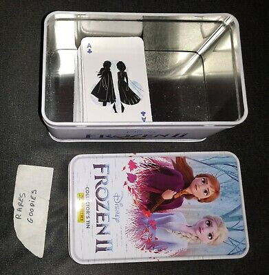 Collection Complète 72 Cartes Carrefour Disney Panini Frozen 2 + rare metal box