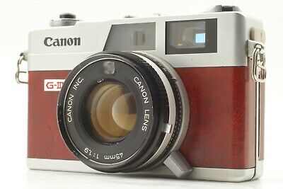 [Excellent Canon Canonet Ql 19 G III Appareil Photo + 45mm f1.9 De Japon #716