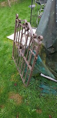 Victorian wrought iron front gate - Good quality.
