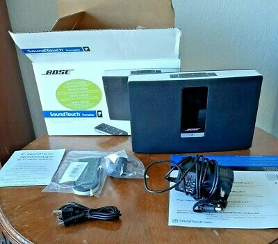 Bose Sound Touch 20 Series II Wireless Music System Factory renewed , hardly use