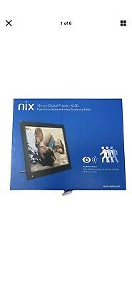 Nix 15D Digital photo Frame Motion Activated. Brand Nee In Box