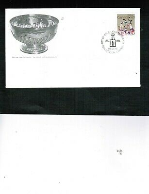 CANADA 1993 100th ANN. STANLEY CUP (1893-1993) FDC #1460 cat $3. BOX 548