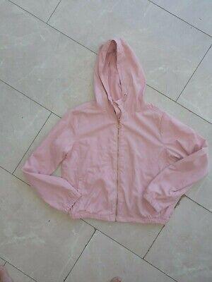Girls pink hooded jacket,age 13/14 years from primark