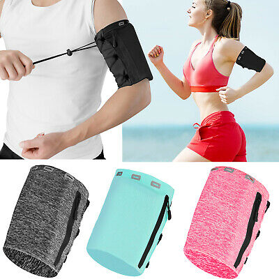 Sports Arm Band Case Phone Holder Pouch Armband Running Jogging Exercise Workout