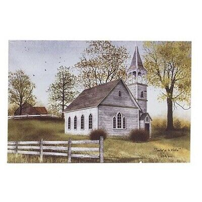"Sunday Go To Meetin Country Church Billy Jacobs Wall Canvas Box Print 12"" x 18"""