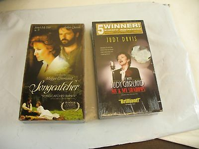 vhs Life with JUDY GARLAND me & my shadows + Songcatcher, lot of 2