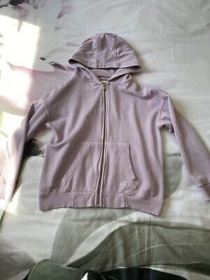 Next Mauve Girls Hoody Age 11 Good Condition