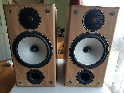 Pair Of Mission Bronze Bx2 Monitor Audio Speakers Working