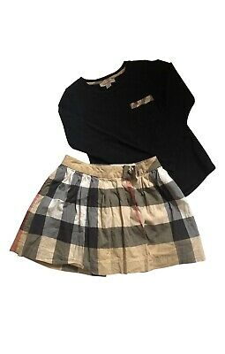 burberry girls Outfit Age 5