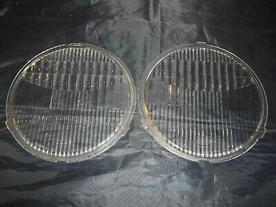 Vintage FORD Twolite Headlight Light Lenses McK  G & L.E.S. Glass Model A T