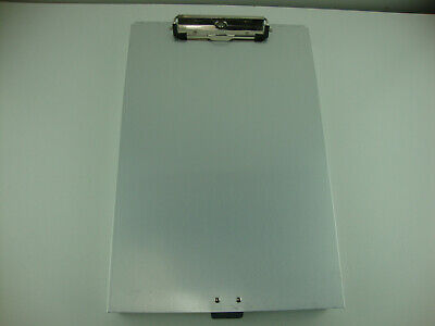 Metal Clipboard Storage Aluminum Binder Form Holder Loaded W/ Contractor Invoice