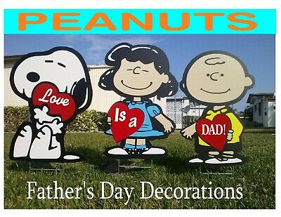 Peanuts Father's Day Outdoor Decorations