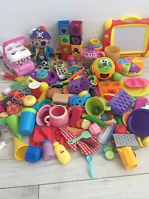 Bundle Baby Toddler Learning Toys Fisher Price Vtech Play Food Shape