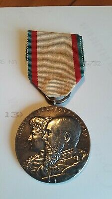 GERMANY, Schaumburg Lippe-Silver Wedding Anniversary Commemorative Medal 1907
