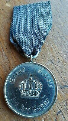 German Prussian 9 Years Military Long Service Medal Ww1