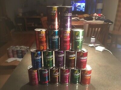 VINTAGE/ANTIQUE 17 SHASTA 12OZ Soda 🥤 POP CANS INSTANT COLLECTION SEE PHOTO'S