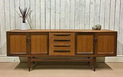 Vtg G PlanTeak Sideboard Danish Mid Century Scandinavian Mcintosh Heals Drawers