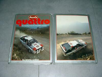 Buch Book - Audi quattro by Jeremy Walton Rally Technic Mechanic History TOP!!!