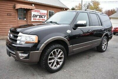 2017 Ford Expedition King Ranch 4X4 Ecoboost All-Terrain BFG K02 Tires! Clean Car-Fax *2* Owner Loaded King Ranch Navigation Sunroof DVD Tow Package!