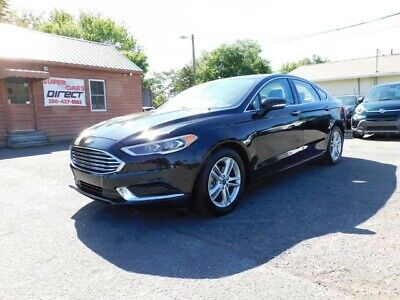 2018 Ford Fusion SE 1.5L Ecoboost FWD Sedan Rear Camera Loaded! Clean Car-Fax One Owner Low Miles Fully Loaded SE Navigation Leather Bluetooth!