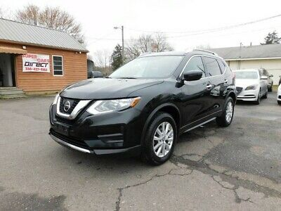 2017 Nissan Rogue SV 2.5L AWD SUV Clean 1 Owner CarFax! We Finance! Blind Spot Monitoring Bluetooth Rear Camera Heated Seats Loaded Dual Zone A/C!