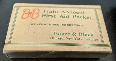 B&B Train Accident First Aid Packet