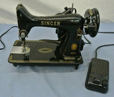 Vintage Singer 99K Sewing Machine 1955  Working Condition