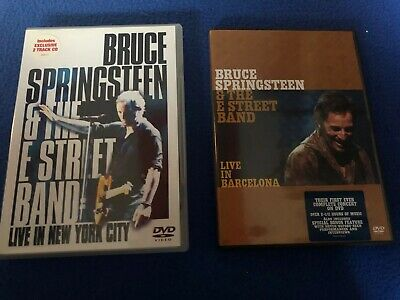 2x Bruce Springsteen & The E Street Band Live DVD