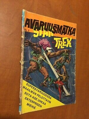 Star Trek 1974 Comic Finnish Edition Ultra rare No 2