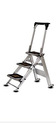 Little Giant 3 Tread Safety Step Ladder | Folding | With Tool Tray | Brand New