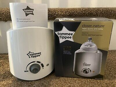 Tommee Tippee Closer to Nature Electric Baby Bottle and Food Warmer - Boxed