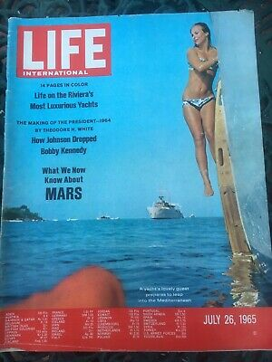 Vintage Life Magazine 26.7.1965 Collectors