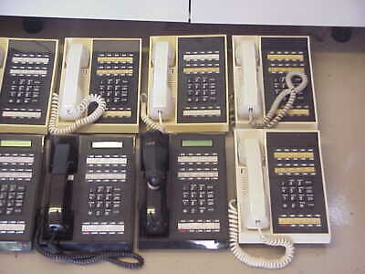 (13) Tie/Onyx Lcd Hf Tel. K1 88363 & 88260 Telephones (Working)