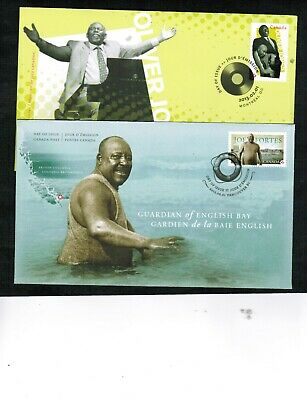 CANADA  2013 BLACK HISTORY MONTH**  2  FDC cat $6.50. #2619-20 BOX 548