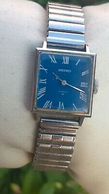 Seiko Ladies Vintage Hand Wind 17 Jewels Watch 21-3111 - Lovely blue colour
