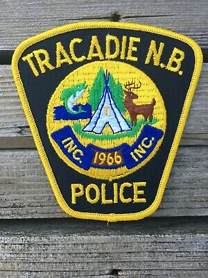 Tracadie (New Brunswick) Police Service - police patch - obsolete