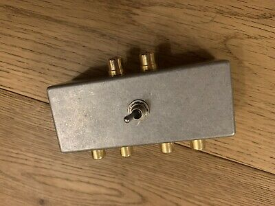 DIY High Level Switch - Connect 2 Turntables to 1 Phono Stage