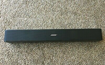 BOSE SOLO TV SOUND SYSTEM BLACK (Model 418775)