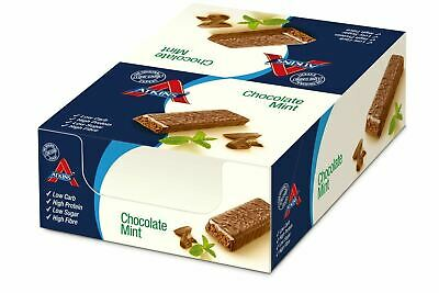 8 Atkins Advantage Chocolate Choc Mint 60g Bars b/before 17/01/20 2 for £20.78!