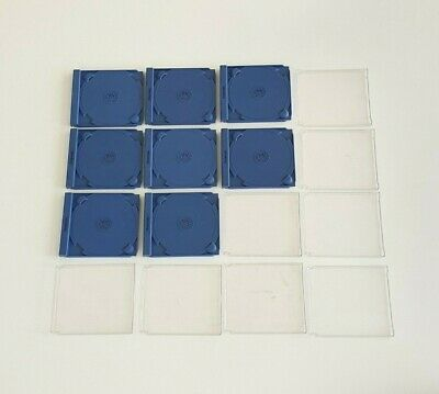 8 x Genuine Sega Dreamcast Replacement Cases Middle and Back Parts - (No Fronts)