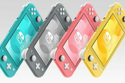 Nintendo Switch Lite Gray, Yellow, Turquoise, Coral 32 GB  New !!Free Shipping!!