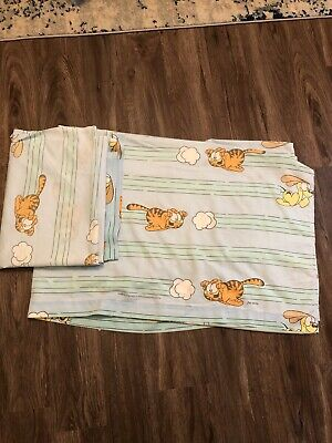 Vintage Garfield and Odie  full size sheet Buy One Get One Free