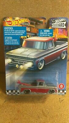 2020 Hot Wheels Premium Series - Boulevard - Custom '62 Chevy Pickup