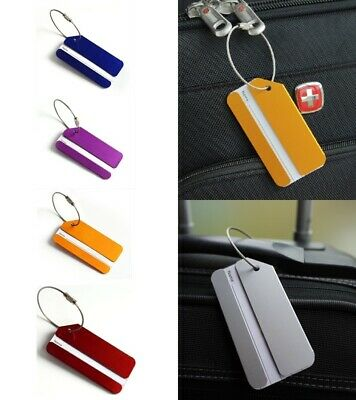 Light Metal Travel Tag Luggage Bags Suitcase Identification