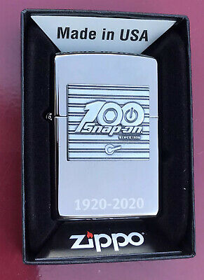 2019 Zippo Snap On Tools 100 Year Limited Edition Lighter Unused In Original Box
