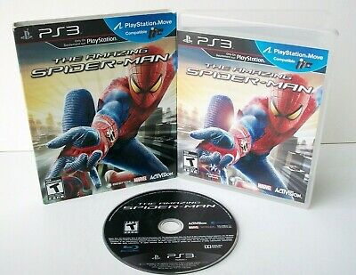 The Amazing Spider-Man (Sony PlayStation 3 PS3) Game Case Cover Spiderman Action